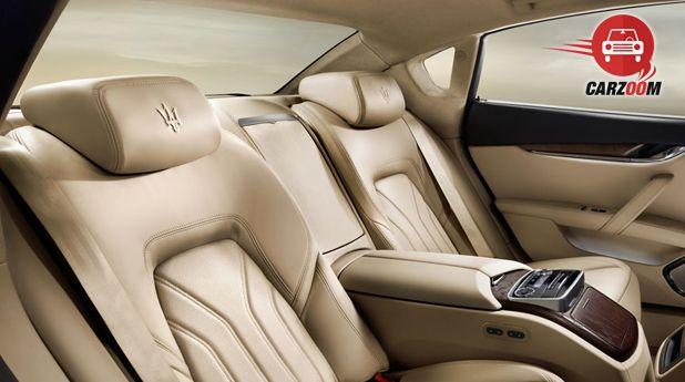 Maserati Quattroporte Interior Seat View