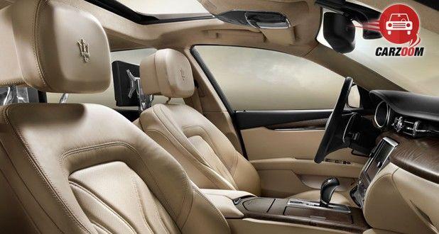 Maserati Quattroporte Interior View