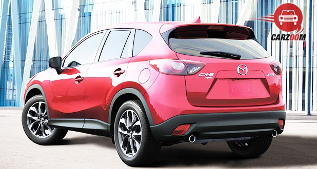 Mazda CX-5 Exteriors Back and Side View