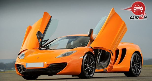 McLaren MP4 12C Exterior Open Door View