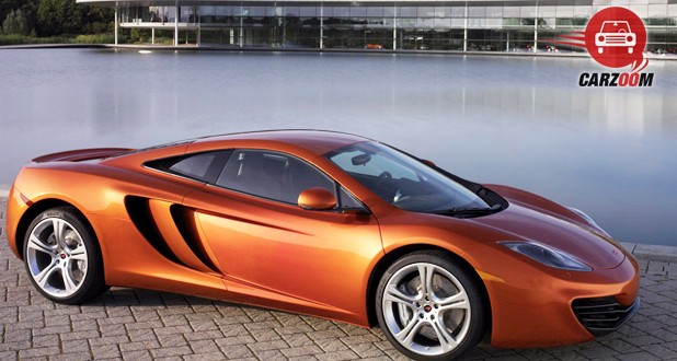 McLaren MP4 12C Exterior Side View