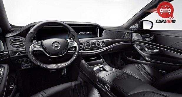 Mercedes Benz S 63 AMG Sedan Dashboard