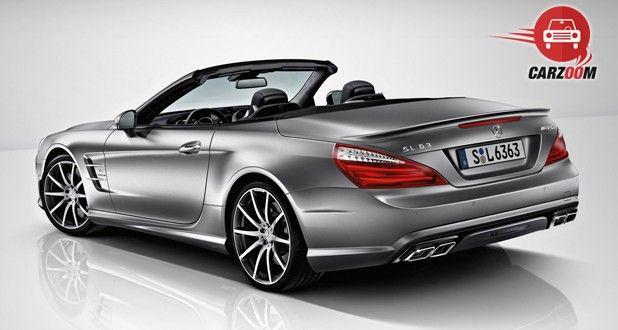Mercedes Benz SL63 Exterior Back view