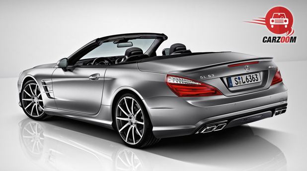 Mercedes Benz SL63 Exterior Back view