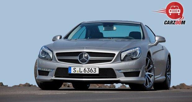 Mercedes Benz SL63 Exterior Front View