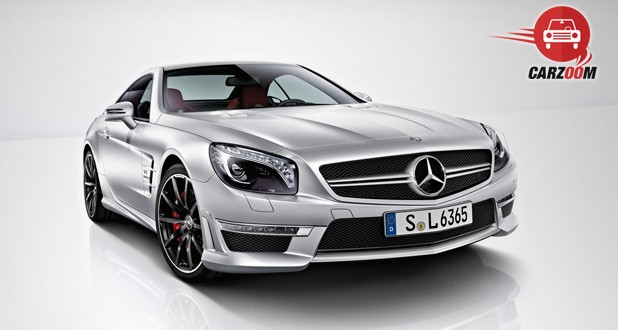 Mercedes Benz SL63 Exterior Side and Front View