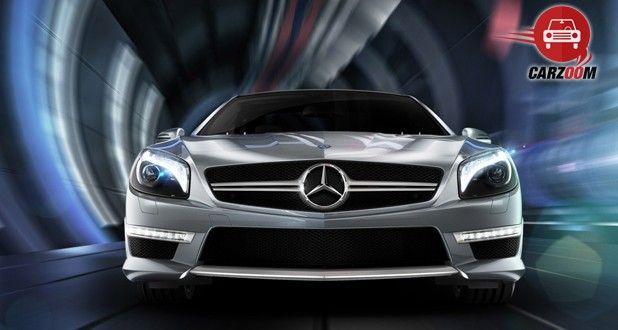Mercedes Benz SL63 Front View