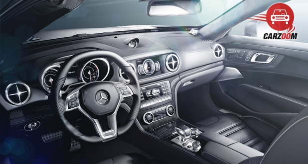 Mercedes Benz SL63 Interior Dashboard