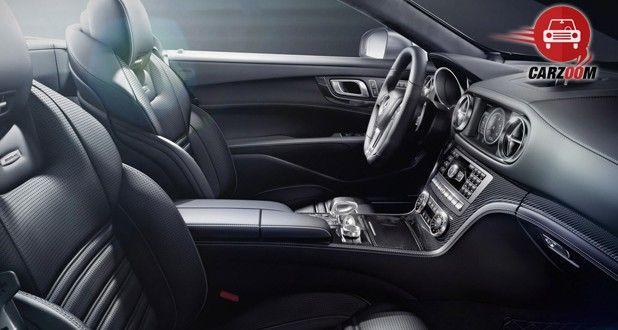 Mercedes Benz SL63 Interior View