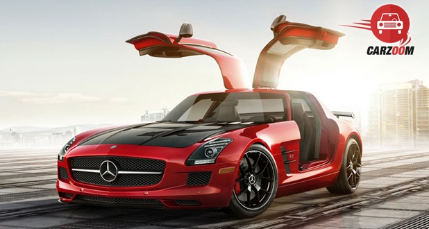 Mercedes Benz SLS AMG Exterior Open Door View