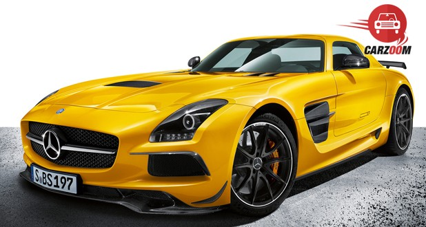 Mercedes Benz SLS AMG Exterior Yellow Color