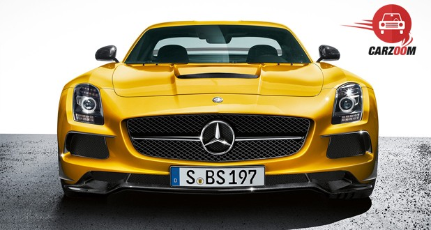 Mercedes Benz SLS AMG Front View