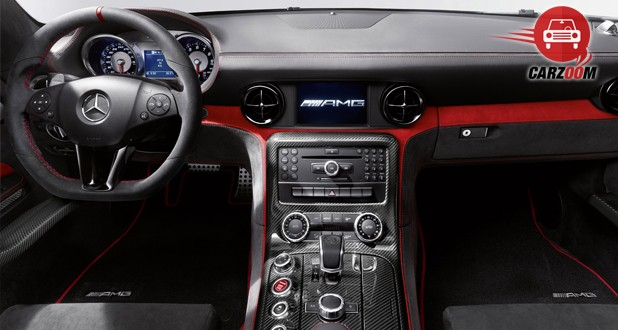 Mercedes Benz SLS AMG Interior Dashboard