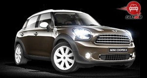 Mini Cooper D Countryman Exterior Front Brown clor