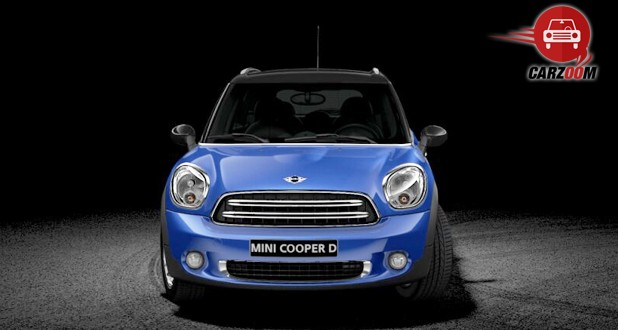 Mini Cooper D Countryman Exterior Front View