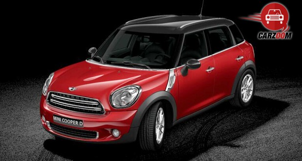 Mini Cooper D Countryman Exterior Red Color
