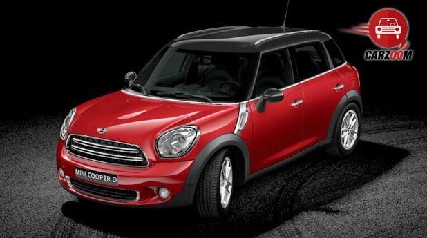 Mini Cooper D Countryman Exterior Red Color