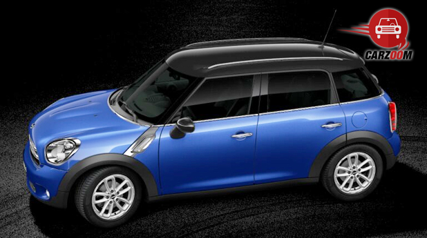 Mini Cooper D Countryman Exterior Side Front View
