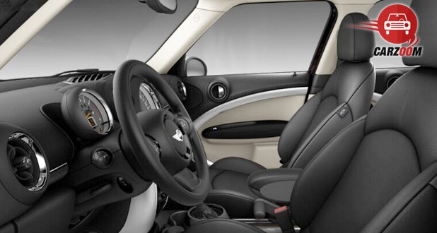 Mini Cooper D Countryman Interior View