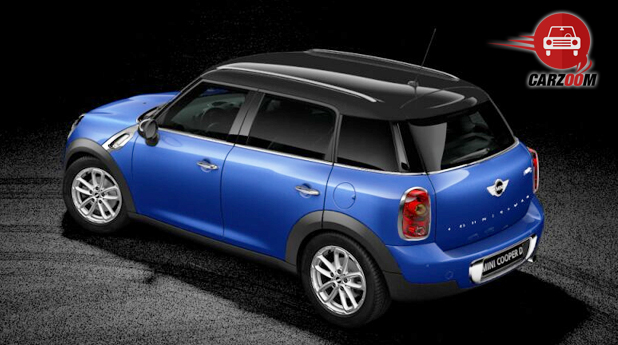 Mini Cooper D Countryman Side and Back View