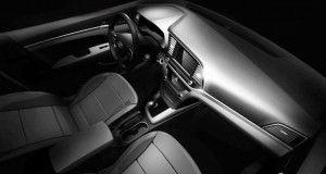 New Hyundai Elentra Interior View