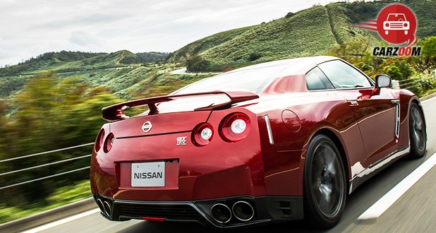 Nissan GT-R AMS Back and Side View