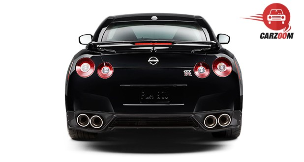 Nissan GT-R AMS Exterior Back View