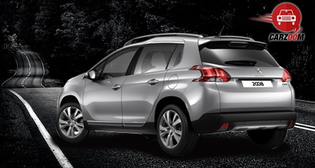 Peugeot 2008 Crossover Exterior Back and Side View
