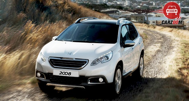 Peugeot 2008 Crossover Exterior Front View