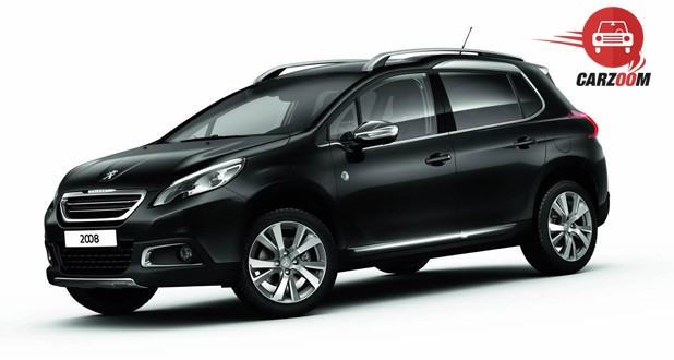 Peugeot 2008 Crossover Exterior Side View