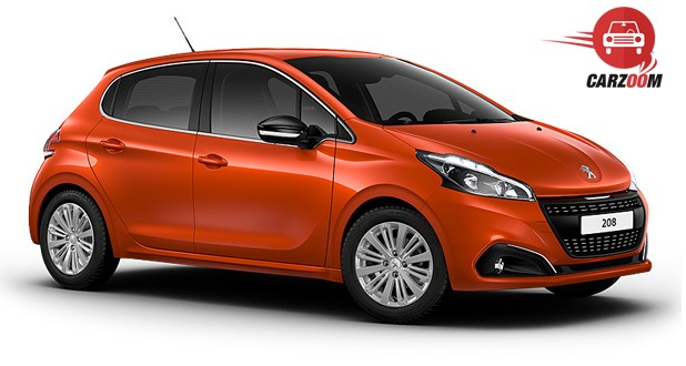 Peugeot 208 Exterior Side View