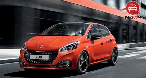 Peugeot 208 Exterior Side and Front View