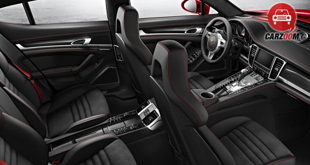 Porsche Panamera Turbo S Interior Seat View