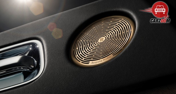 Rolls-Royce Wraith 'Inspired by Music' Edition Audio Device