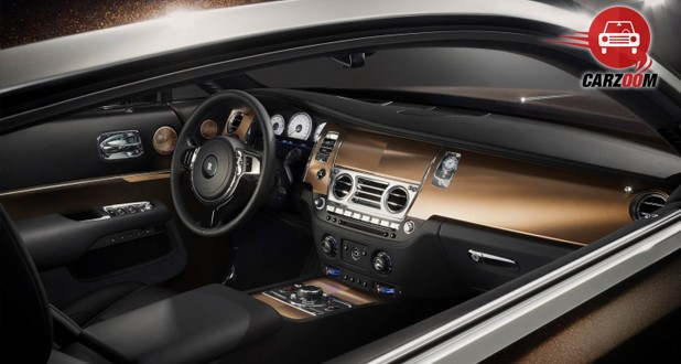 Rolls-Royce Wraith 'Inspired by Music' Edition Interior Seat View