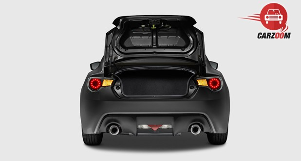 Scion FR-S Exterior Boot Space View