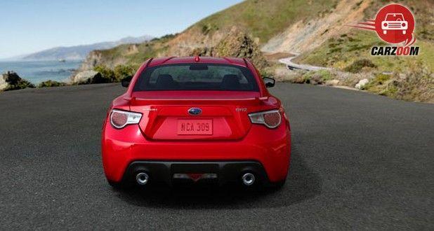 Subaru BRZ Exterior Back View