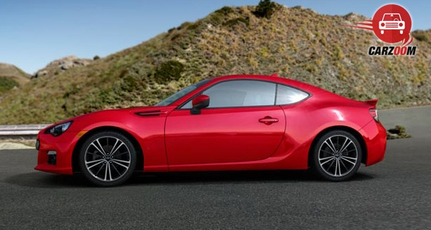 Subaru BRZ Exteriors Side View