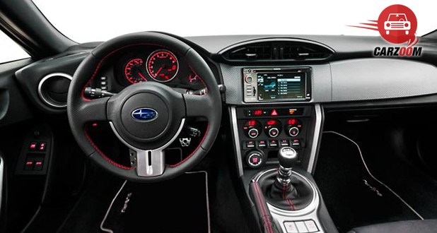 Subaru BRZ Interior Dashboard