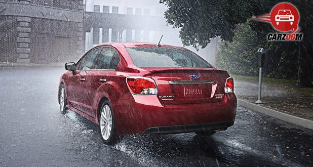 Subaru Impreza Back View