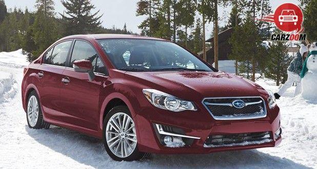 Subaru Impreza Exterior Front and Side View