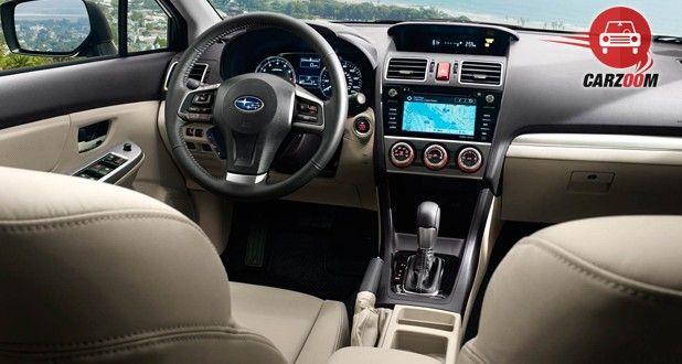 Subaru Impreza Interior View