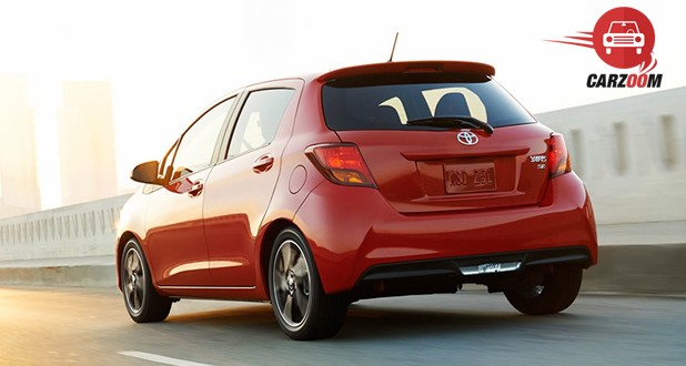 Toyota Yaris Exterior Back View