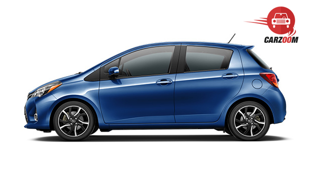Toyota Yaris Exterior Side View