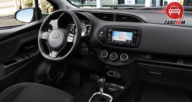 Toyota Yaris Interior Dashboard View