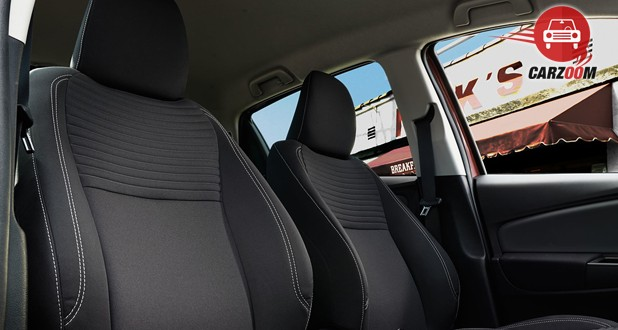 Toyota Yaris Interior Seat View