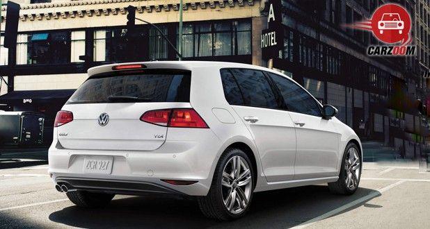 Volkswagen Golf Exterior Back View