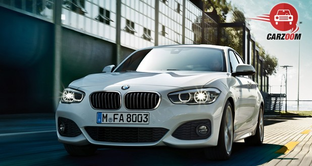 BMW 1 series Facelift Exterior Front View