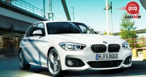 BMW 1 series Facelift Exterior View