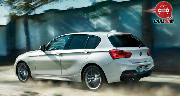 BMW 1 series Facelift Side View